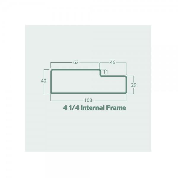 4 quarter internal frame