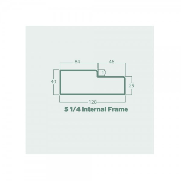 5 quarter internal frame