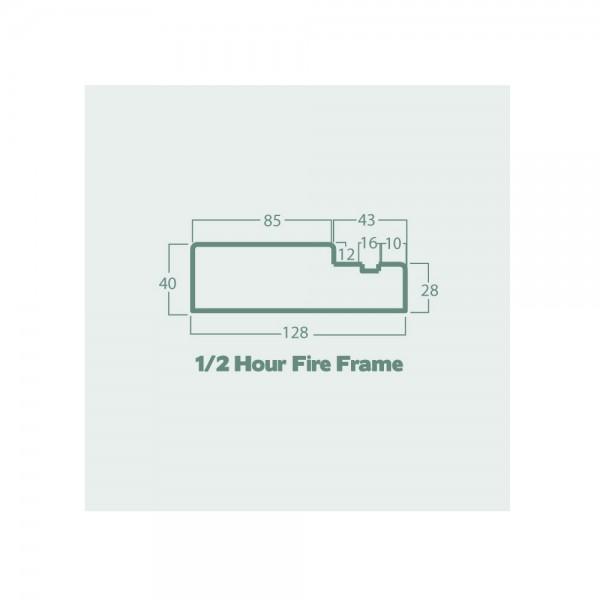 half hour fire frame