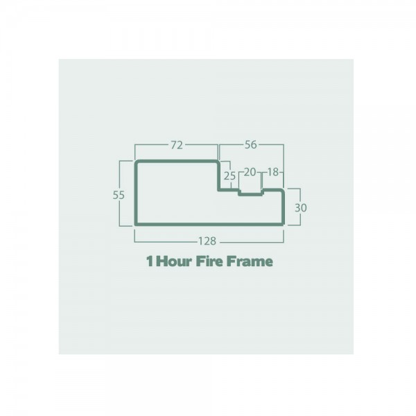 one hour fire frame